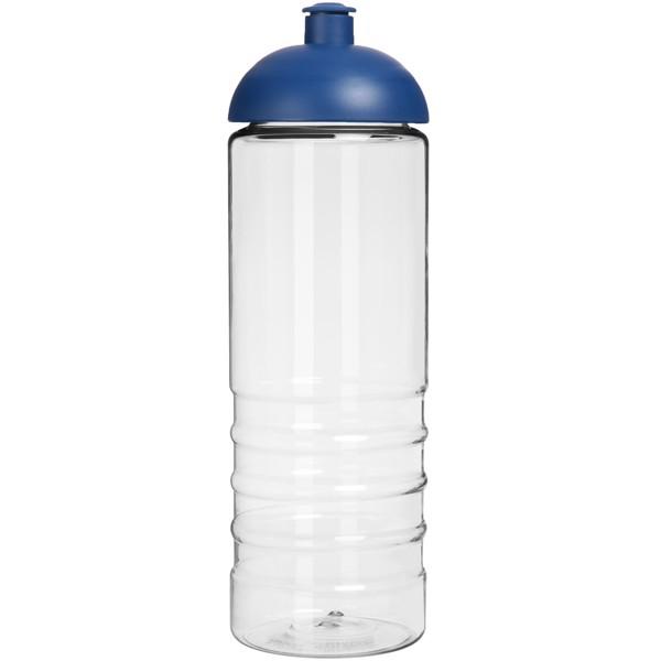 H2O Treble 750 ml sportovní lahev s kupolovitým víčkem - Průhledná / Modrá