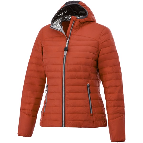 Silverton women's insulated packable jacket - Orange / XS