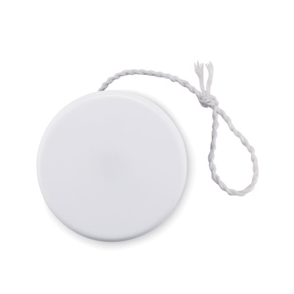 Plastové jojo Flatyo - white