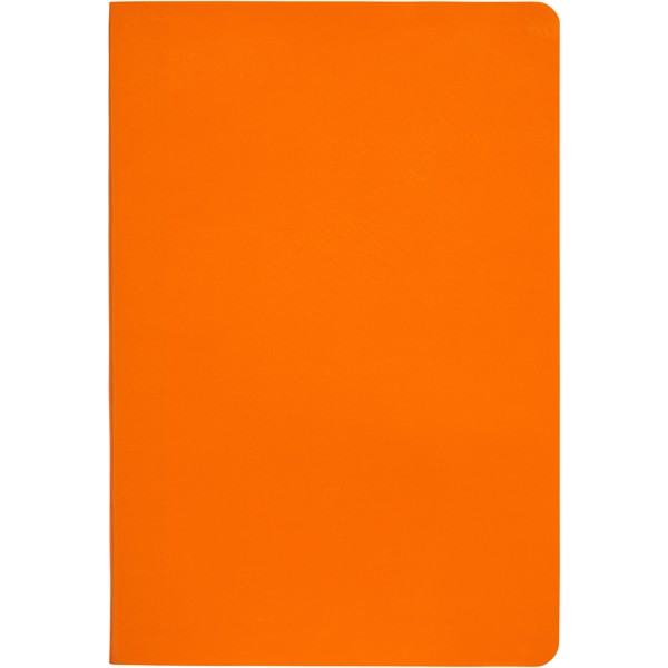 Gallery A5 soft cover notebook - Orange