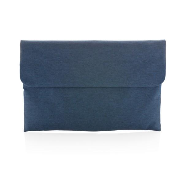 """Pouzdro na 15,6"""" notebook s magnetickým zavíráním - Modrá"""
