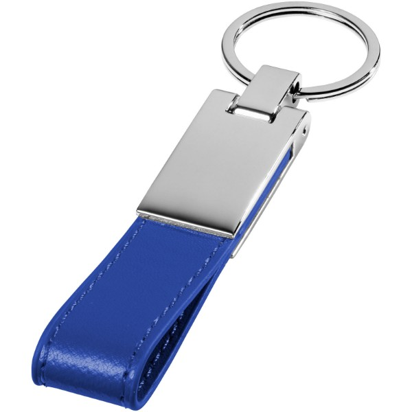 Klíčenka Corsa s popruhem - Modrá / Stříbrný