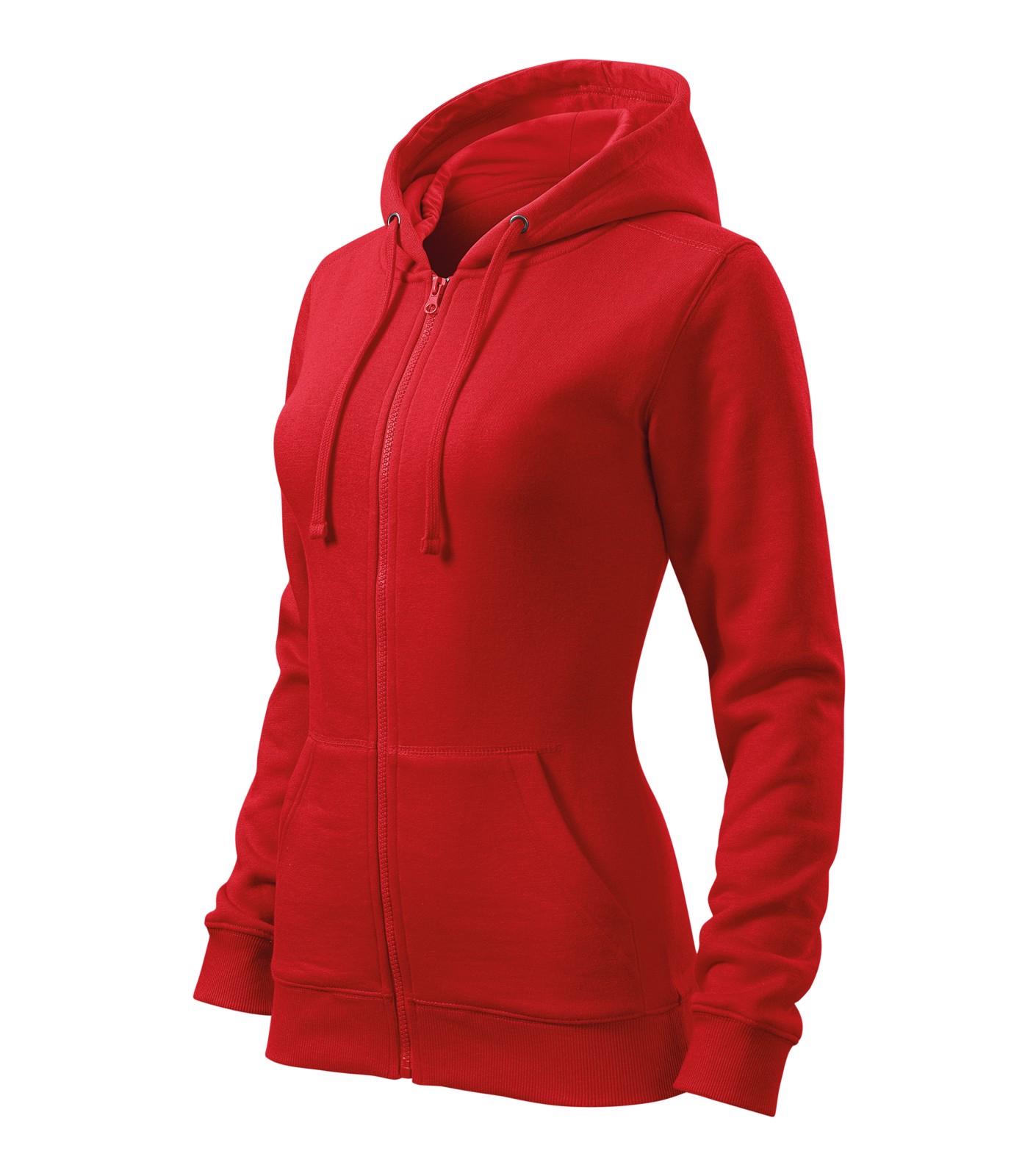 Sweatshirt women's Malfini Trendy Zipper - Red / 2XL