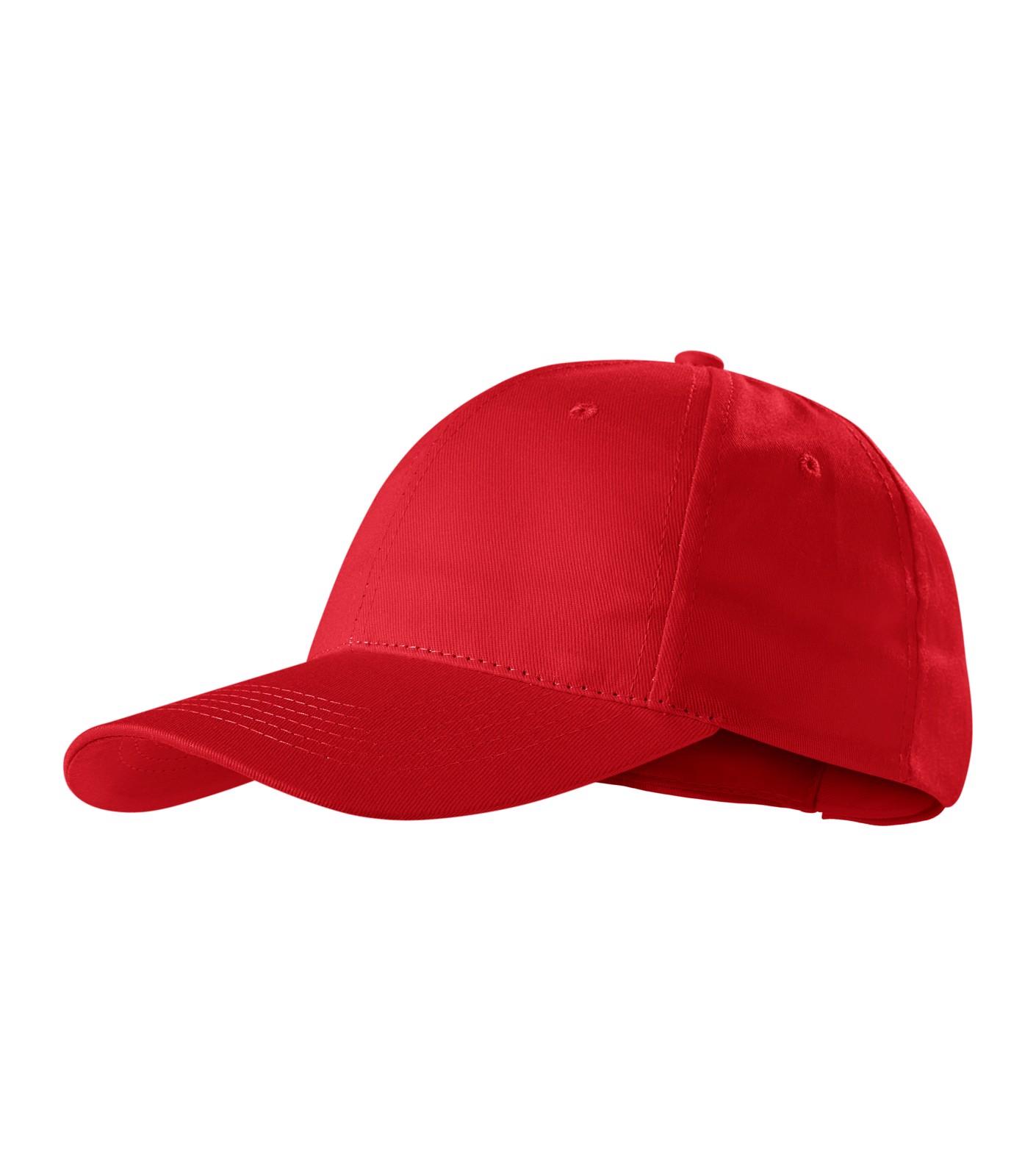 Cap unisex Piccolio Sunshine - Red / adjustable