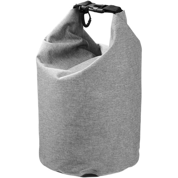 Traveller 5 litre heathered waterproof bag - Grey
