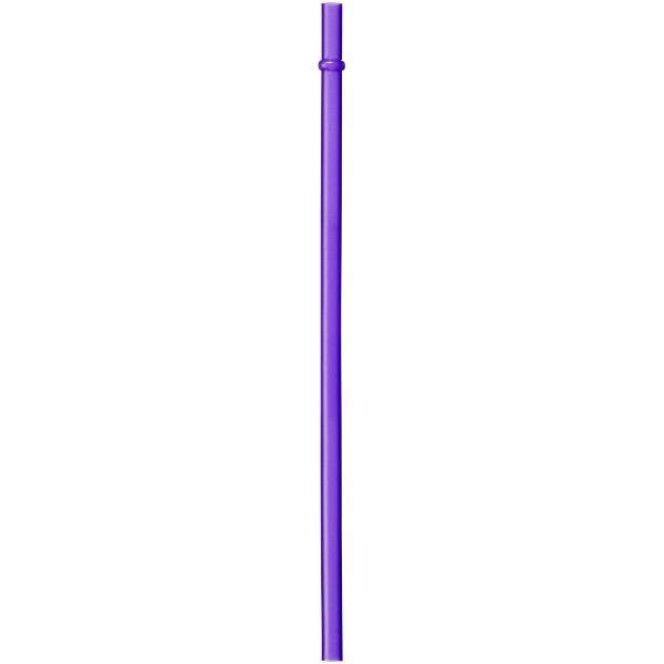 Fiesta 580 ml beverage ball with straw - Purple