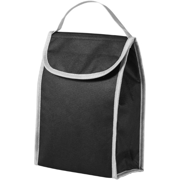 Lapua non woven lunch cooler bag - Solid Black