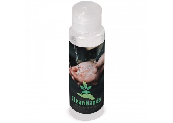 Hand cleaning gel Made in Europe 100ml - Transparent