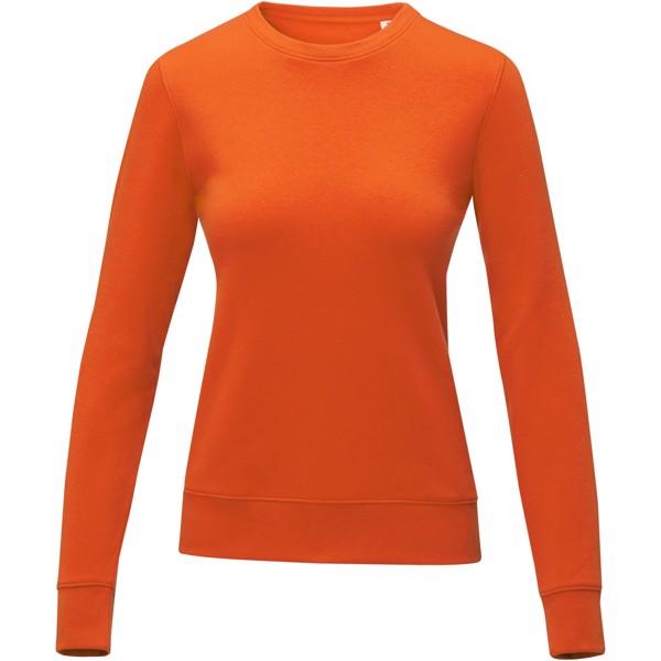 Zenon women's crewneck sweater - Orange / L