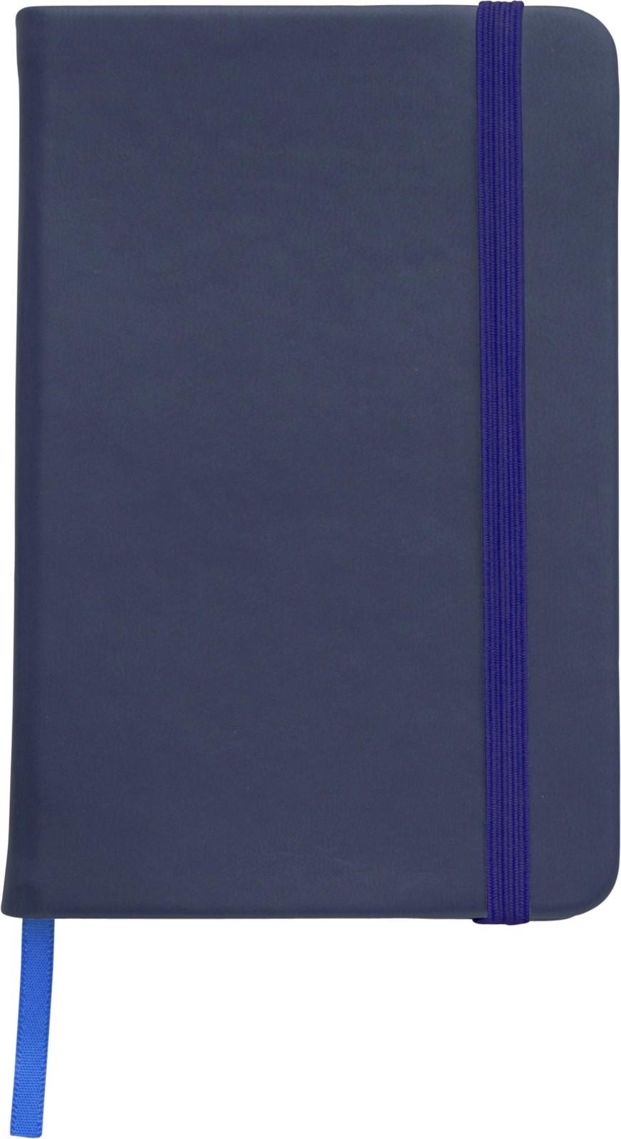 Notizbuch 'Color-Line' A5 aus PU - Blue