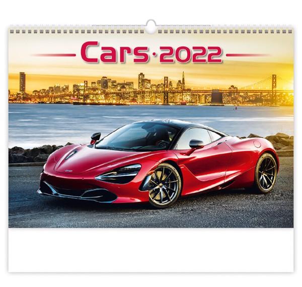 Měsíční kalendář Cars 2022