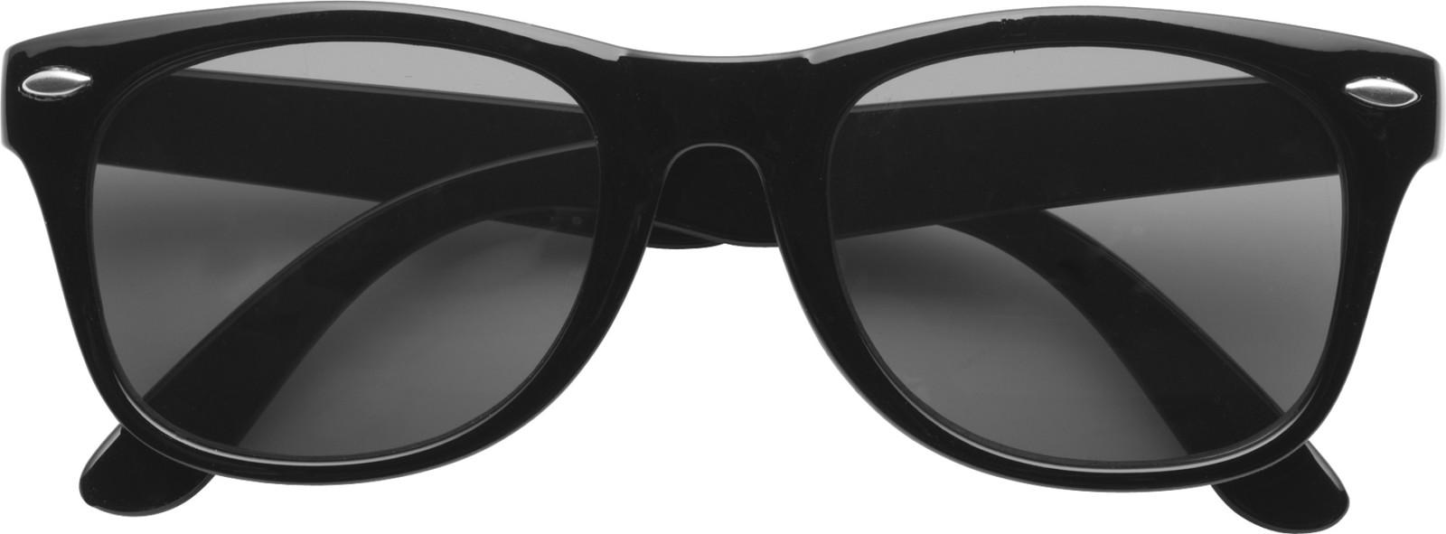 PC and PVC sunglasses - Black