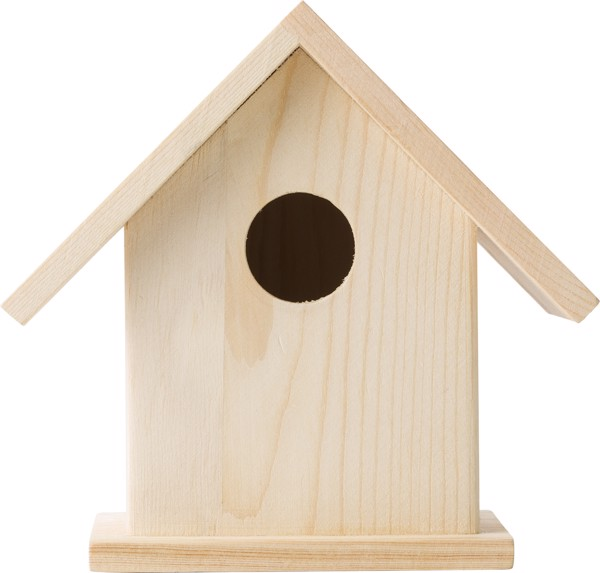 Set de casita de pájaros, de madera