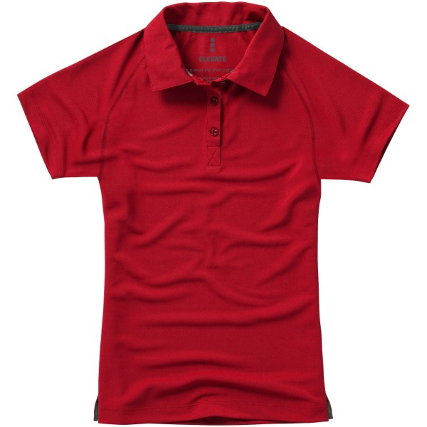 Ottawa short sleeve women's cool fit polo - Red / XL