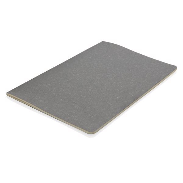 A5 standard puhafedelű, vékony jegyzetfüzet - Szürke