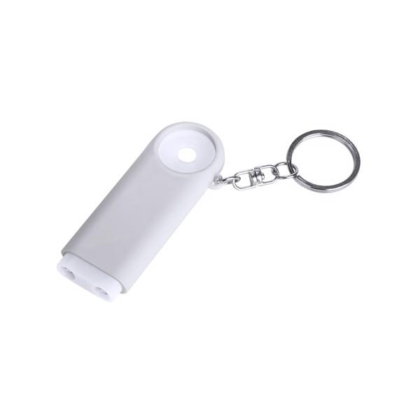 Keyring Coin Kipor - White