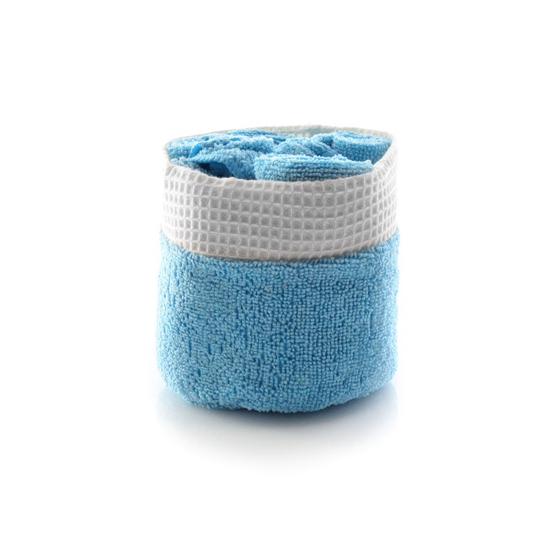 Absorbent Towel Set Tekla - Blue