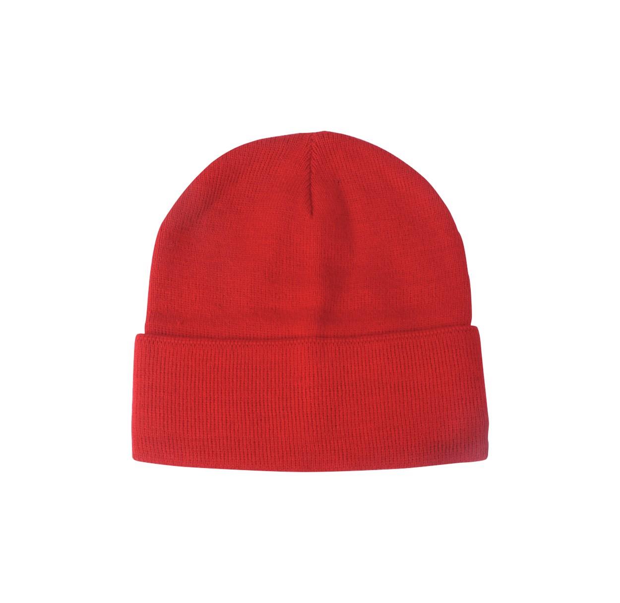 Zimní Čepice Lana - Červená