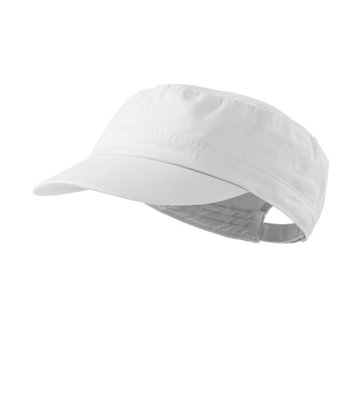 Cap unisex Malfini Latino - White / adjustable
