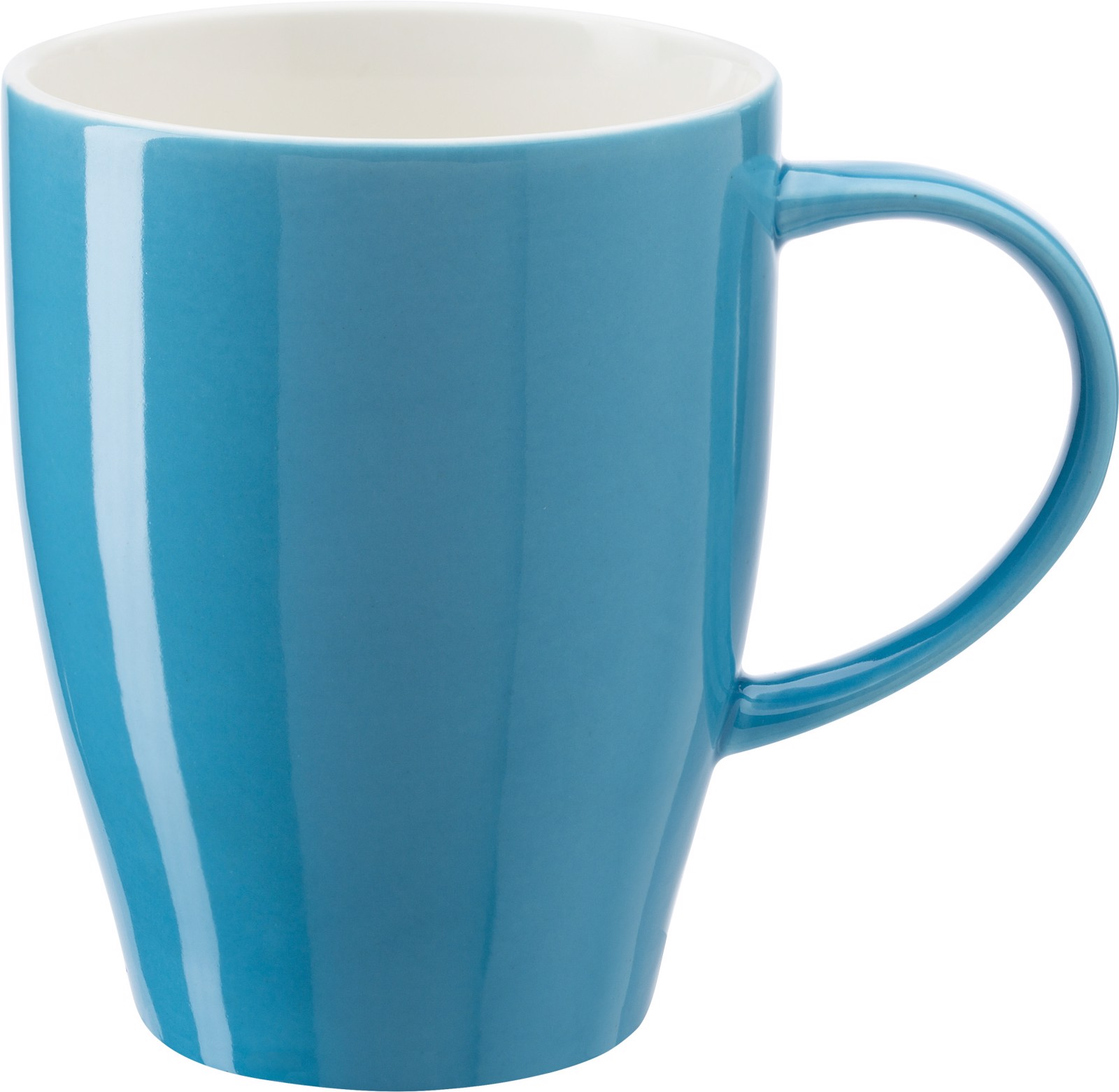 Porcelain mug - Light Blue
