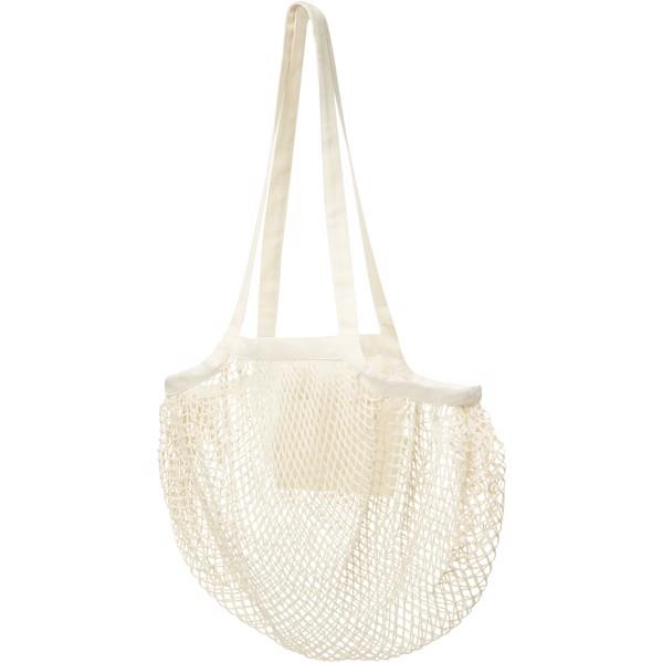 Pune 100 g/m2 GOTS organic mesh cotton tote bag - Natural