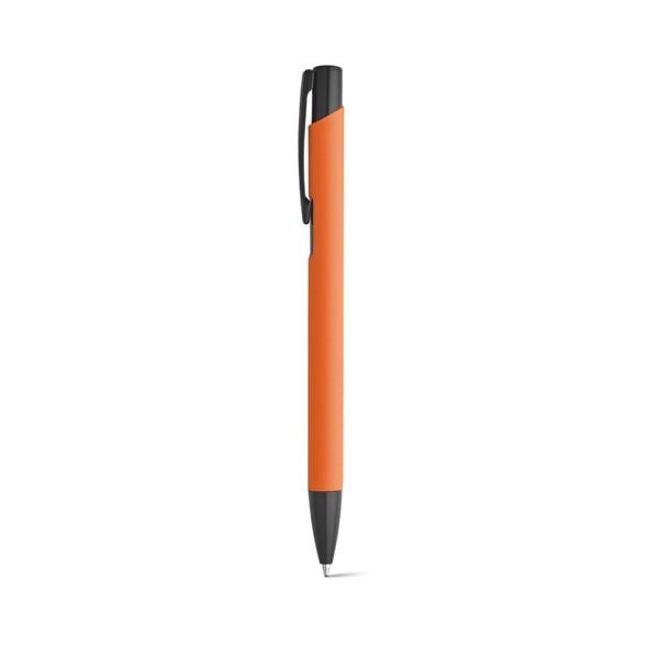 POPPINS. Hliníkové kuličkové pero - Oranžová