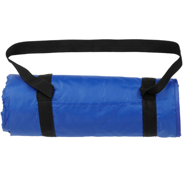 Roler picnic plaid with carrying strap - Royal blue