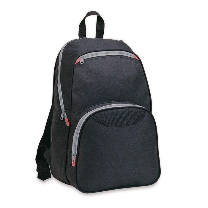 Backpack with outside pockets Ronda