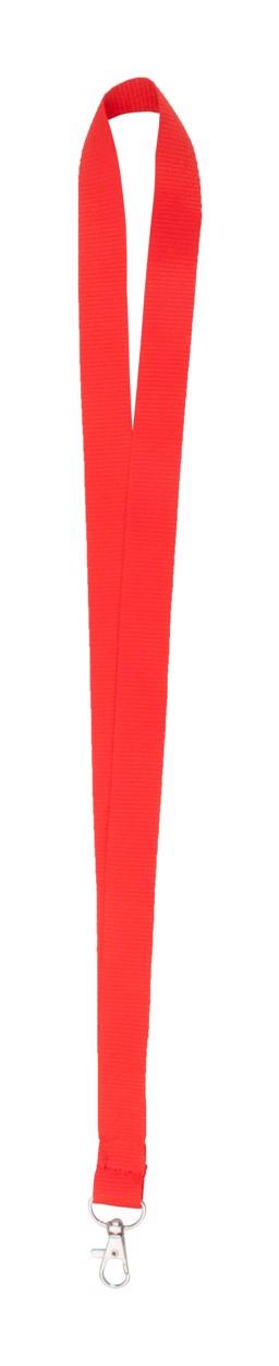 Lanyard Neck - Červená