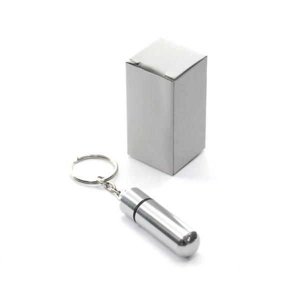 Porta-Chaves Caixa para Comprimidos Alumpill