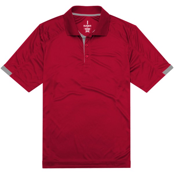 Kiso short sleeve men's cool fit polo - Red / S