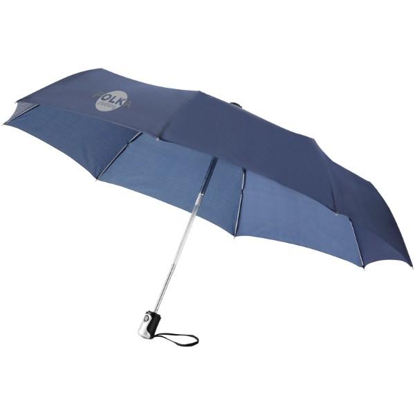 """21,5"""" deštník Alex s automatickým otvíráním/skládáním - Navy"""