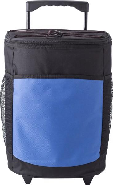 Polyester (600D) cooler trolley - Cobalt Blue