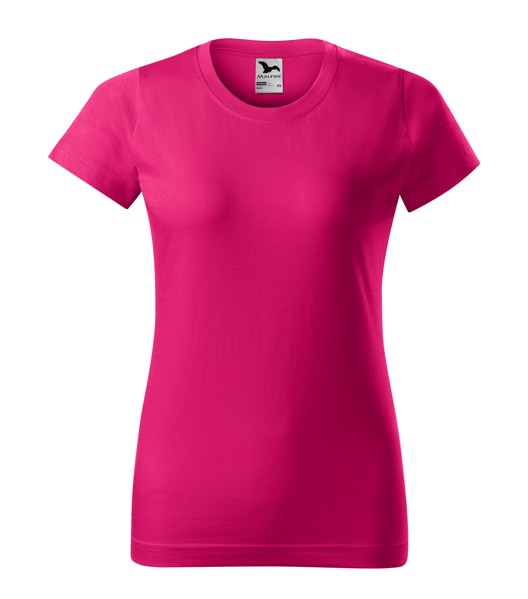 T-shirt Ladies Malfini Basic - Raspberry Pink / XS