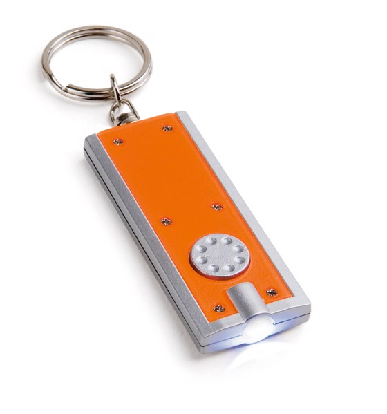 NOHO. Klíčenka s LED - Oranžová