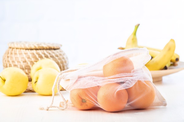 Pytlík Na Ovoce A Zeleninu EcoShop - Béžová