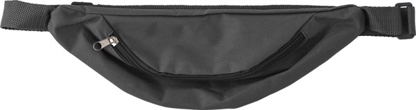 Oxford fabric waist bag - Black