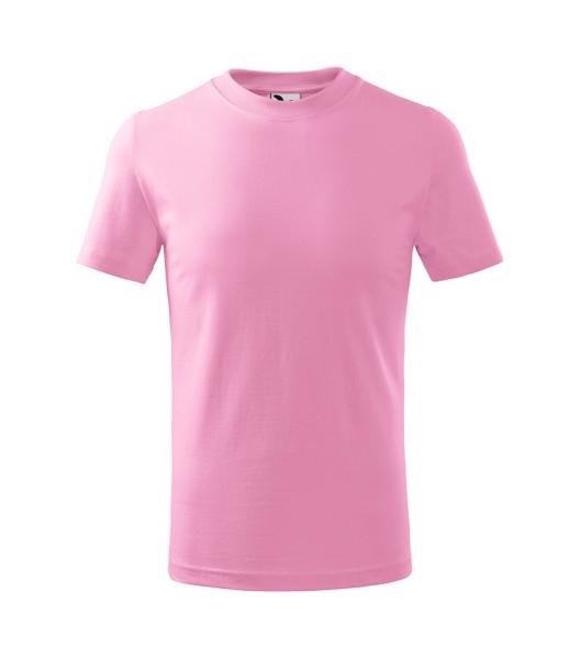 Tričko dětské Malfini Basic - Růžová / 122 cm/6 let