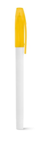 JADE. Στυλό διάρκειας - Κίτρινο