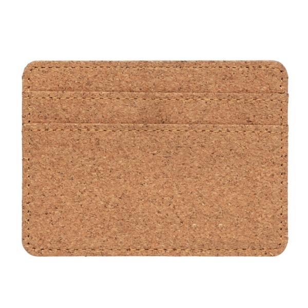 RFID korkové pouzdro na karty