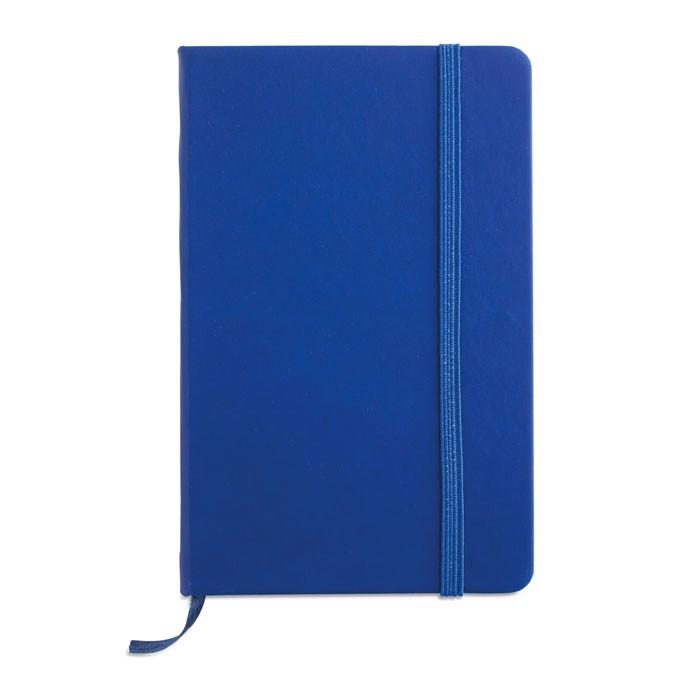 DIN A6 Notizbuch Notelux - blau