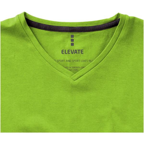 Pánské triko Kawartha s krátkým rukávem, organická bavlna - Zelené jablko / S