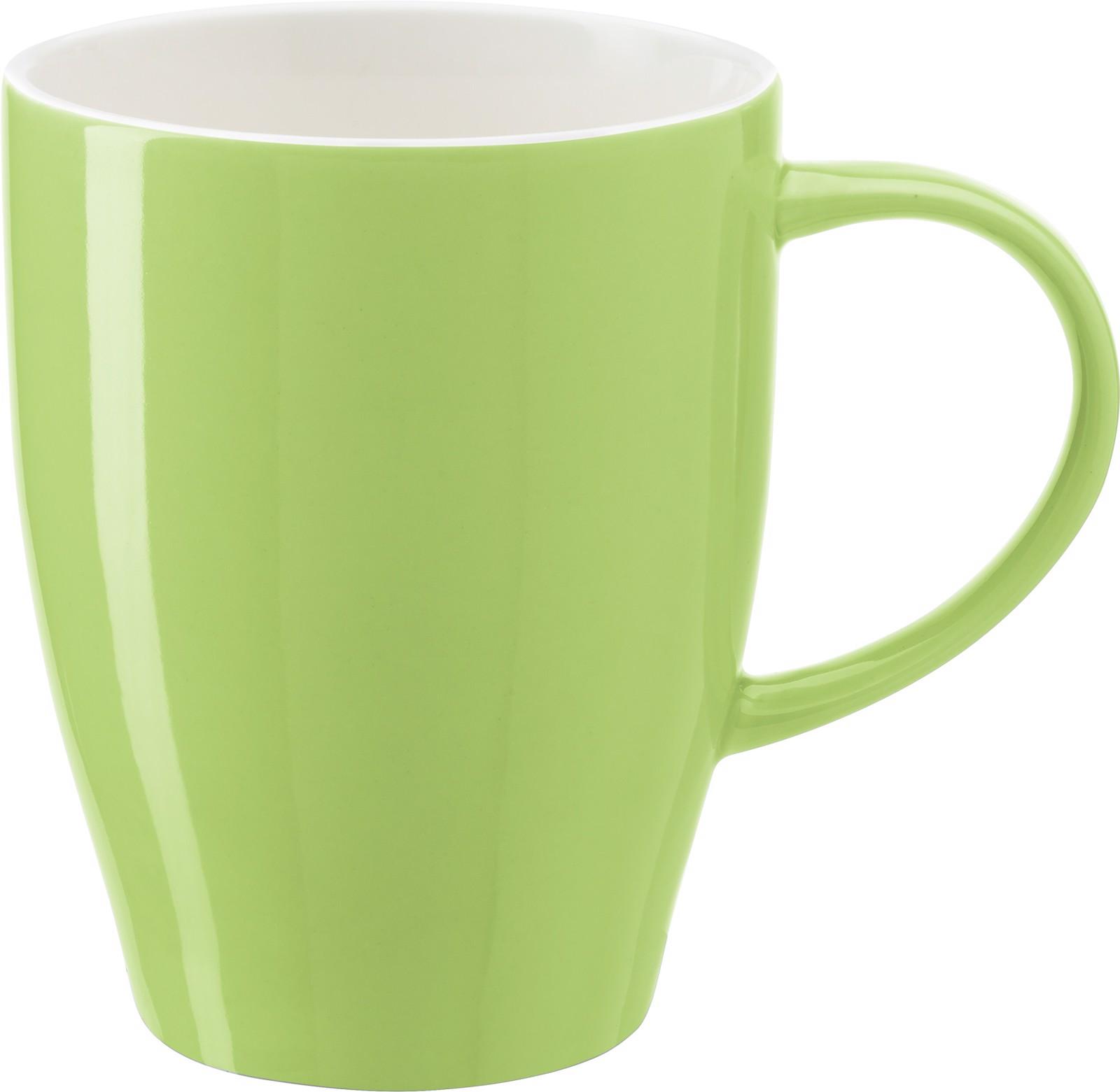 Porcelain mug - Light Green