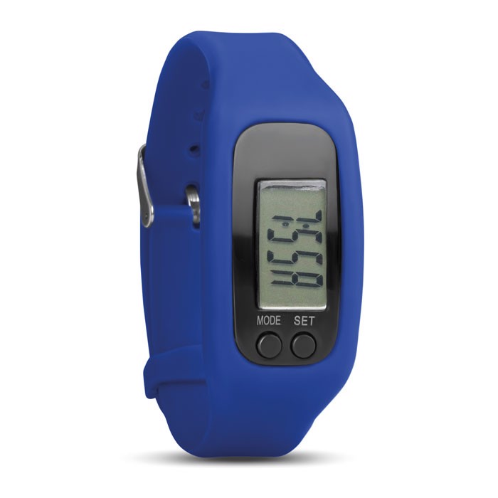 Pedometer bracelet Bratara - Royal Blue