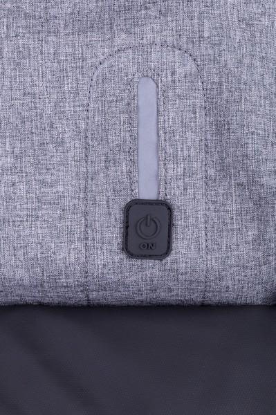 Nahrbtnik Briden – pepelnato siv/črn