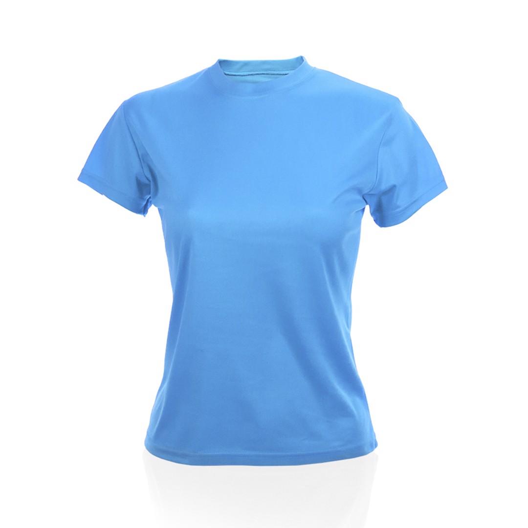 T-Shirt Mulher Tecnic Plus - Azul Claro / S