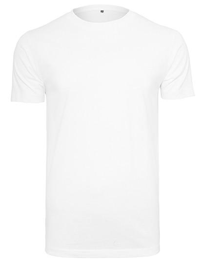 Organic T-Shirt Round Neck - White / 3XL