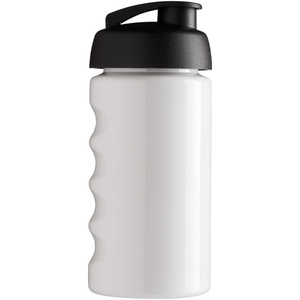 Sportovní láhev s vyklápěcím víčkem H2O Bop® 500 ml - Bílá / Černá