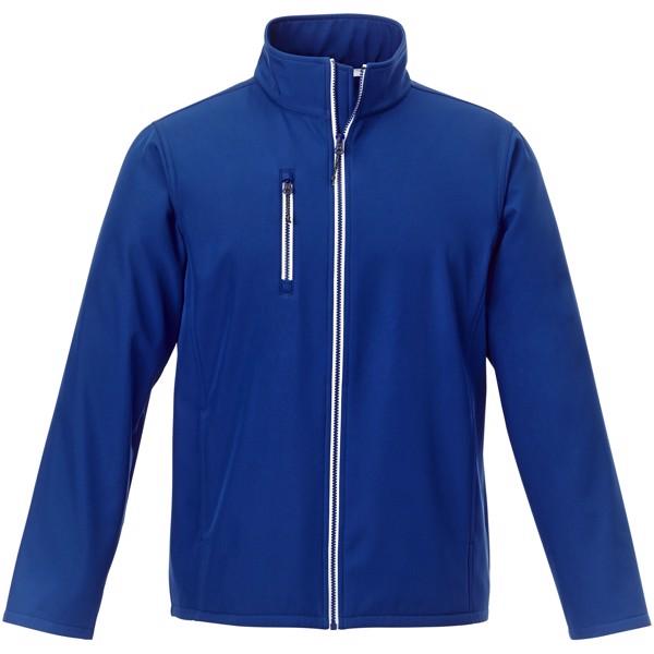 Orion men's softshell jacket - Blue / L