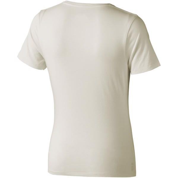 Dámské triko Nanaimo s krátkým rukávem - Větle šedá / XS